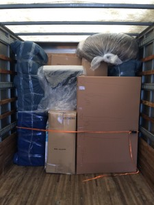 Household Goods Loaded and ready to Move