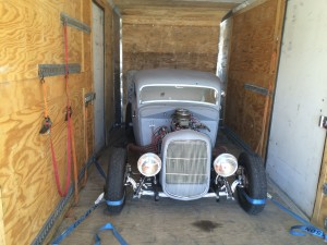 Transporting Classic Car