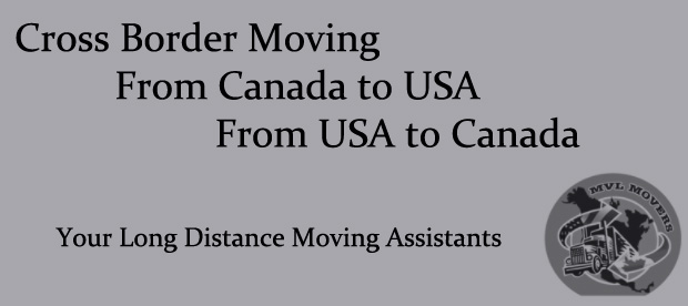 Cross border moving from Canada to USA