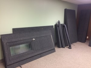 Records studio relocated