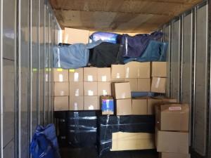 Loading 53 feet trailer Toronto to New York