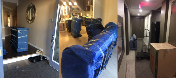 Toronto house, condo, apartment moving, furniture wrapping, moving blankets
