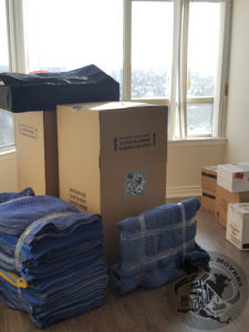 MVL Newmarket Movers blankets & boxes picture